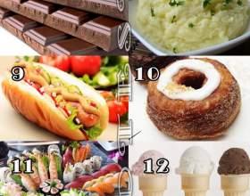 Тест-картинка «улюблена їжа і характер» фото